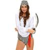 Queen Lingerie Queen Costume Sexy Set Pirata 3 Pcs Talla M