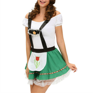 Queen Lingerie Queen Costume  Vestido Octoberfest Talla Unica