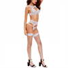Queen Lingerie Queen Set 3 Pcs Blanco Talla M