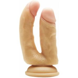 Real Rock Doble Penetracion Natural / Anal 12 Cm  Vaginal 10 Cm