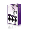 Rianne S - Rs - Soiree Set de 3 Plug Anales Negros