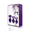 Rianne S - Rianne S - Booty Plug Set 3x púrpura