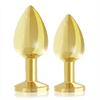 Rianne S - Rs - Soiree Set de 2 Plug Anales Luxury Dorado