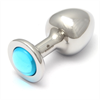 Rosebuds - Cristal Swarovski Plug Celeste 4.3 Cm X 2.5 Cm