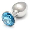 Rosebuds Swarovski Anal Acero 461 X 30mm  Cristal Aquamarine