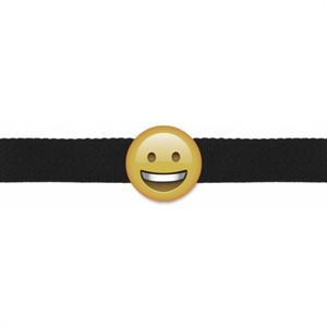 S Line Mordaza Emoticono Sonriente