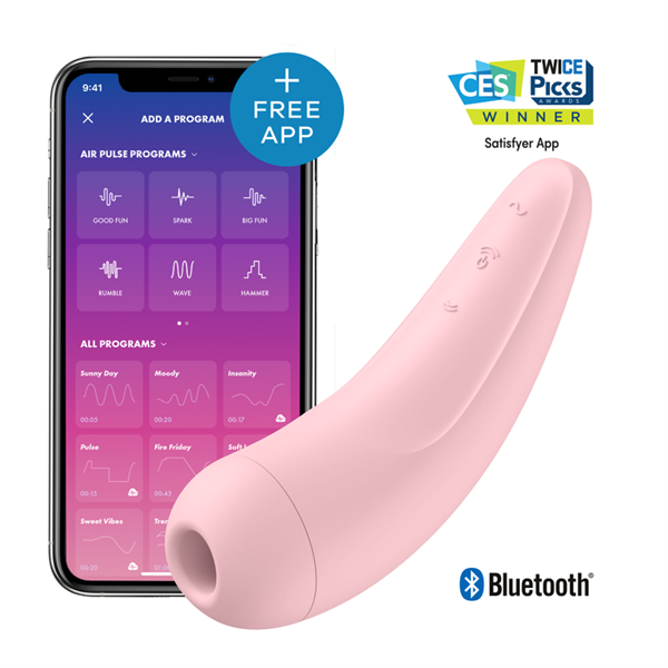Satisfyer Curvy 2  + -  Pink