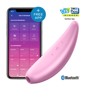 Satisfyer Curvy 3+  Rosa