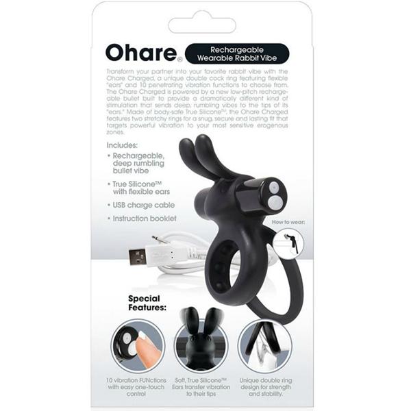 Screaming O - Charged Ohare Vooom Mini Vibe - Negro