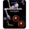 Secretplay Brazilian Balls  Chocolate Set 2 Bolas