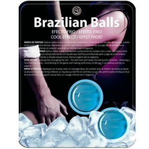 Secretplay Brazilian Balls Efecto Frio 2 Unidades