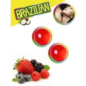 Secretplay Brazilian Balls Frutas Del Bosque Set 2 Bolas