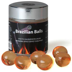 Secretplay Brazilian Balls Warming Effect 6 Unidades