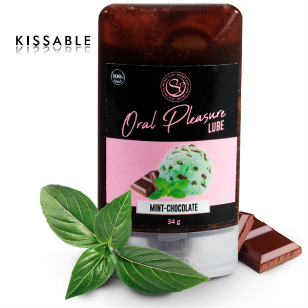 Secretplay - Lubricante Comestible Chocolate Con Menta