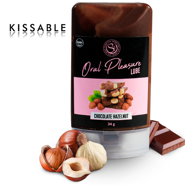 Secretplay - Lubricante Comestible Chocolate Y Avellanas