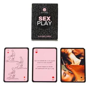 Secretplay Secret Play Juego De Cartas Sex Play Fr/Pt