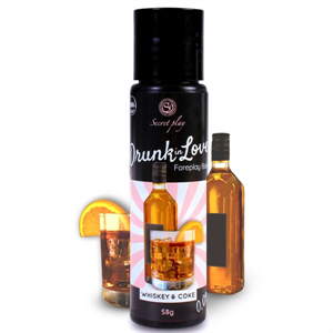 Secretplay Secret Play Lubricante Drunk In Love Whisky Cola 60 Ml
