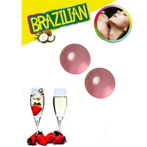 Secretplay Set 2 Brazilian Balls Fresas Con Cava