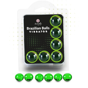 Secretplay Set 6 Brazilian Balls Vibrator