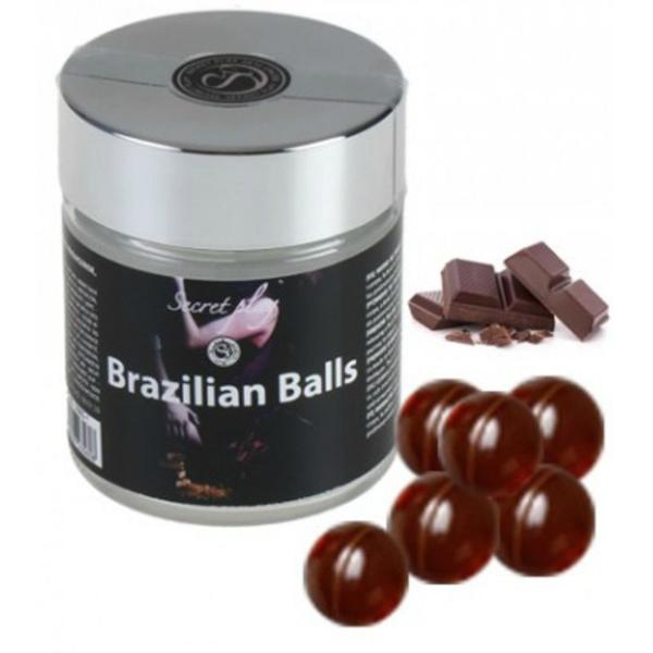 Secretplay Capsulas de Masaje Aroma Chocolate 6 Unidades