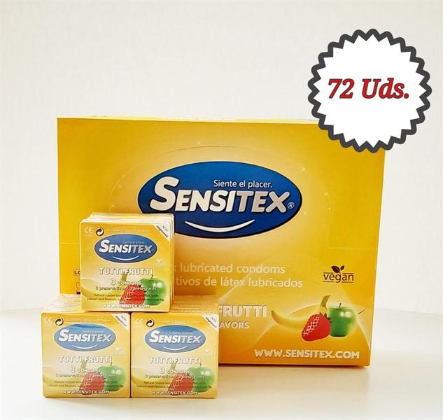 Sensitex - Sensitex Sabores 72 Unidades