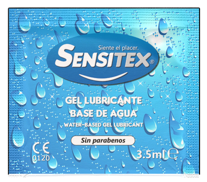 Sensitex Lubricante 3,5ml - Bolsa 100