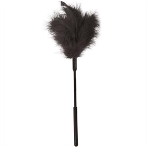 Sex&mischief Sex & Michief Feather Pluma Masaje  Negro
