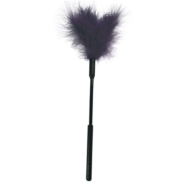 Sex&mischief - Sex & Mischief Feather Pluma Masaje 13&quote; Lila