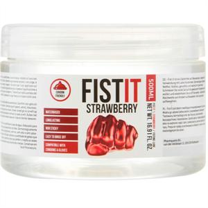 Shots - Fistit - Lubricante Anal Base Agua Sabor A Fresa  500ml