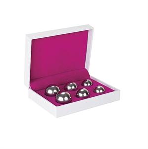 Shots Set 6 Bolas Ben Wa Balls Silver
