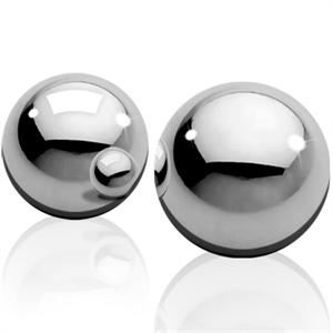 Shots Toys - Bolas Peso Medio Acero Inoxidable Ben-wa-balls  Plateado