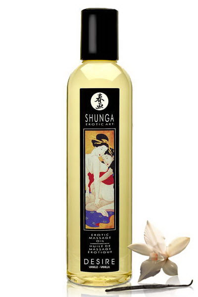Shunga Aceite de Masaje Desire (Vainilla)