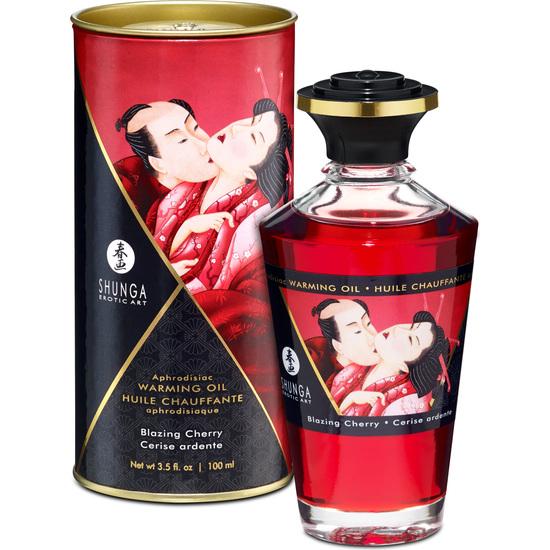Shunga Aceite Afrodisíaco Cereza