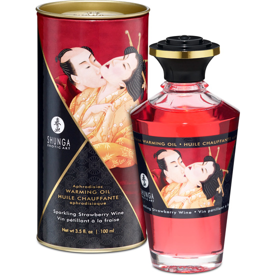 Shunga - Aceite Afrodisico Sparling Strawberry Wine