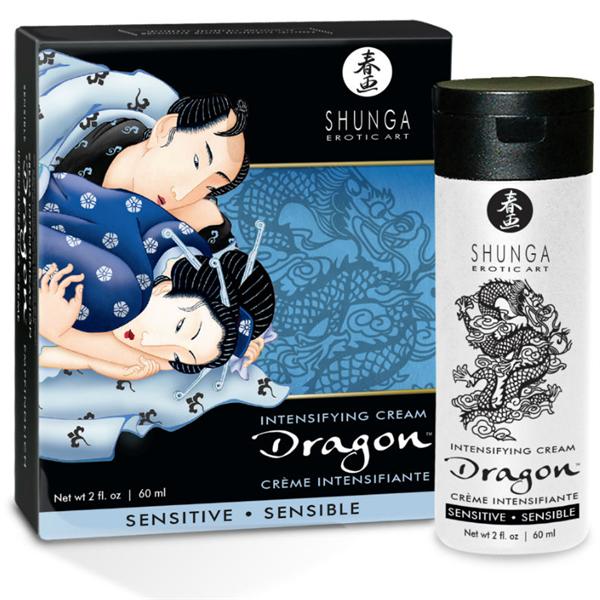 Shunga - Dragon Crema Sensitive Para Parejas