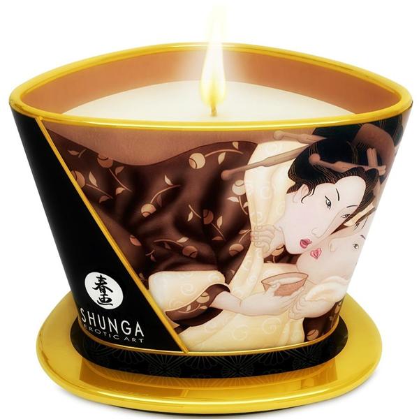 Shunga - Vela Masaje Chocolate