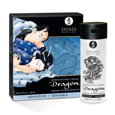 Shunga Crema Dragon Sensitive