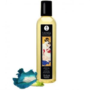 Shunga Erotic Aceite De Masaje Sensación Islas Florales 250ml