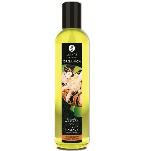 Shunga - Aceite De Masaje Erótico Orgánico  Almendra Dulce