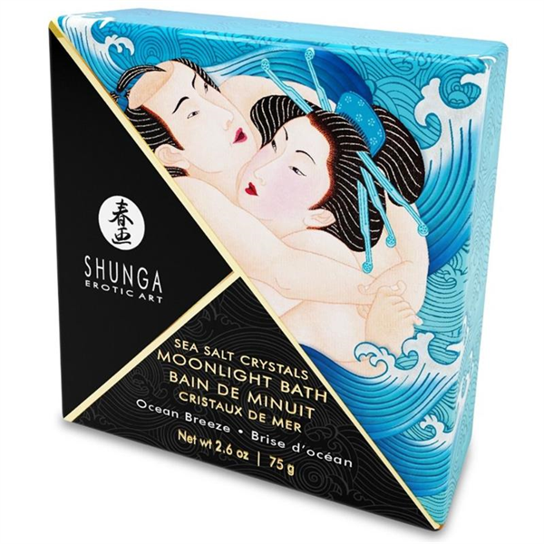 Shunga - Shunga - Sales De Baño De Cristales Orientales Single Use Ocean Breeze 75