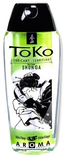 Shunga Lubricante Toko Melón y Mango