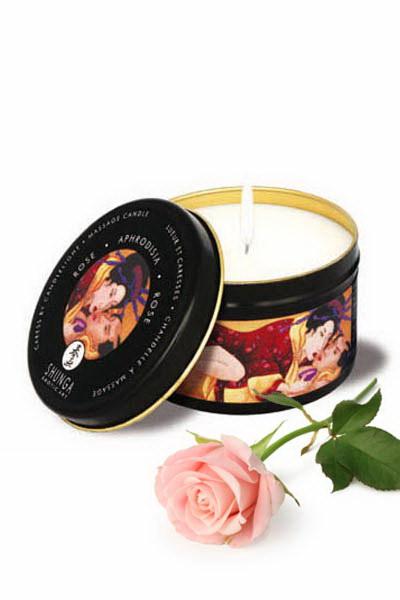 Shunga Vela Masaje Aphrodisia / Rosas
