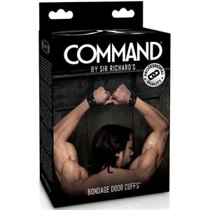Sir Richards Command Esposas Bondage De Puerta