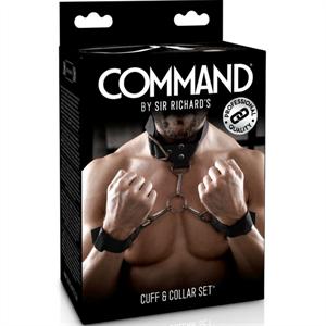 Sir Richards Command Set De Esposas Con Collarin