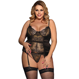 Subblime Queen Plus Size Subblime Queen Plus Corset De Encajes Central