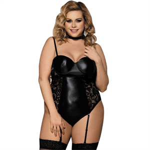 Subblime Queen Plus Size Subblime Queen Plus Corset Estilo Fetish