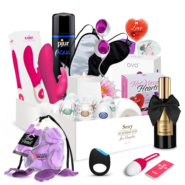 Surprise Gift Boxes Sexy sorpresa Caja de regalo - Para Parejas (Deluxe)