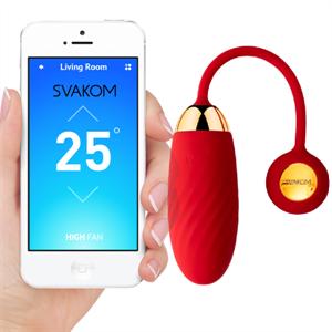 Svakom Huevo Vibrador  Ella Neo Con App Rojo
