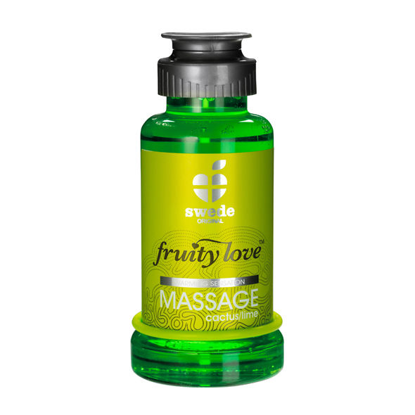 Swede - Fruity Love Aceite Masaje Efector Calor 100 Ml Captus/Lima Swede