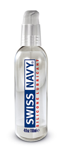 Swiss Navy Lubricante de Silicona 118ml.